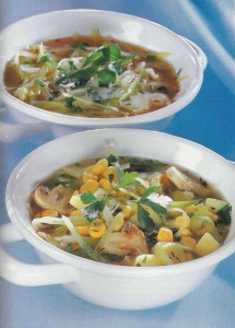 Фото: овощной суп